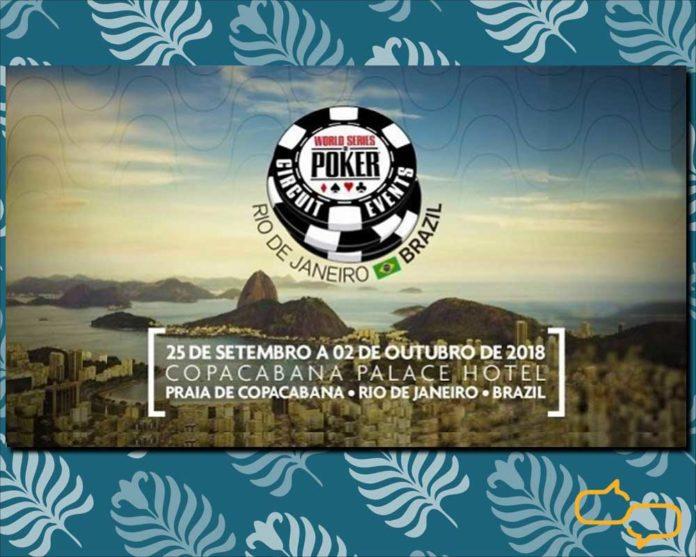 The World Series of Poker at Rio de Janeiro's iconic Belmond Copacabana Hotel