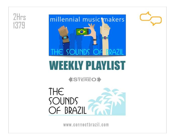 Weekly playlist for 'Millennial Music Makers on The Sounds of Brazil at Connectbrazil.com