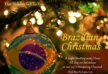 A light dusting of Christmas favorites every hour and non-stop Brazilian Christmas Saturdays on The Sounds of Brazil's streaming station, plus our 24/7 Brazilian Christmas channel anytime at Connectbrazil.com!