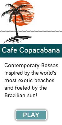 'Cafe Copacbana' is one of 13 streaming music channels at Connectbrazil.com