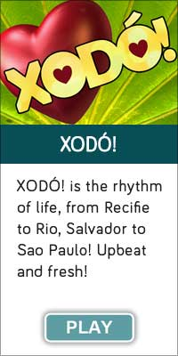 """'XODO!"""" is one of 13 streaming music channels at Connectbrazil.com"""
